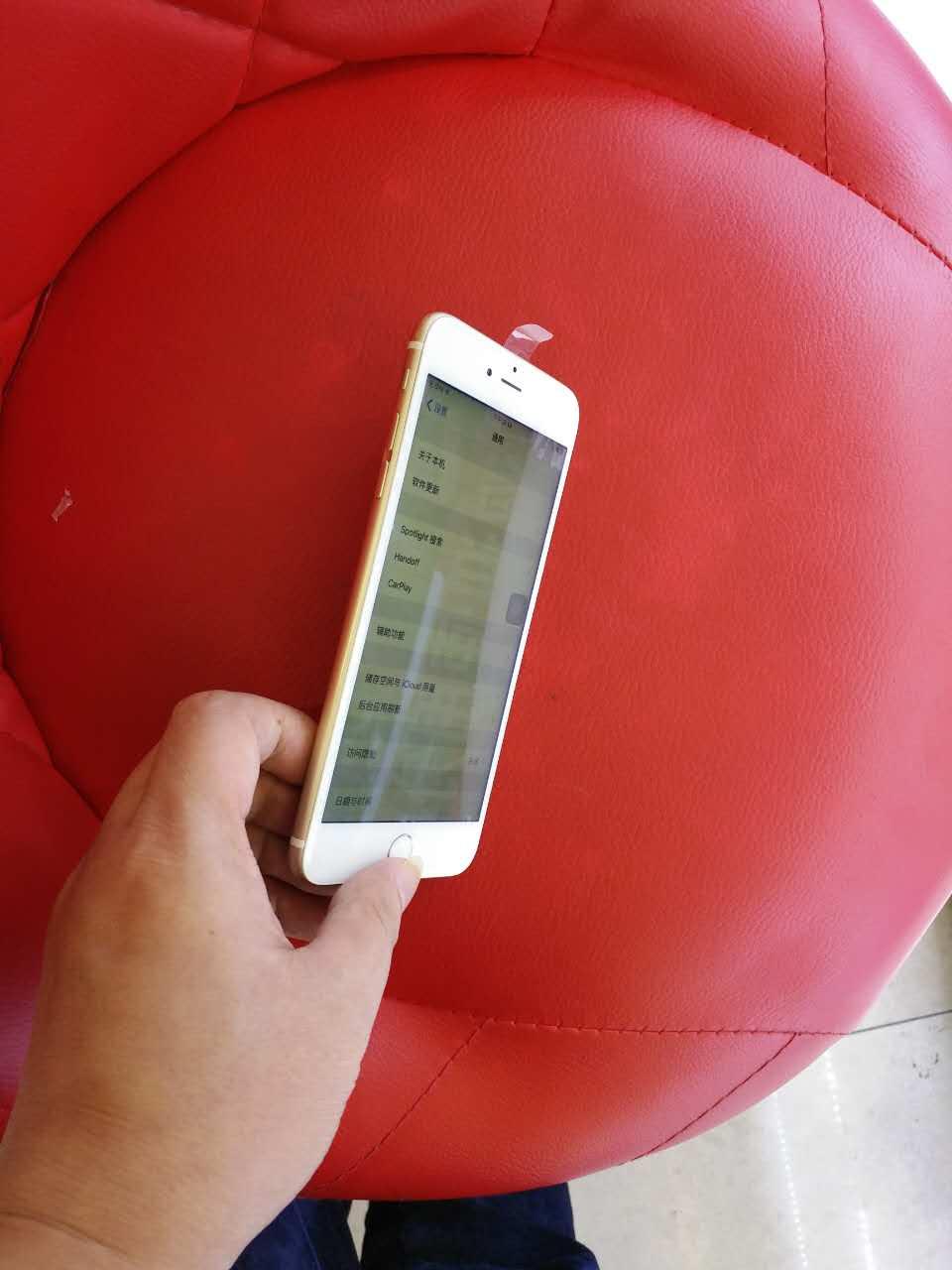 苹果6p金色64g测试9.9成新2800元