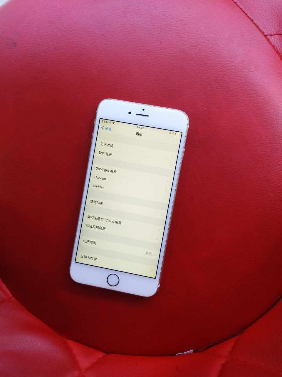 苹果6sp金色64g无指纹其他正常2..